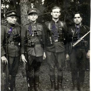 Dainavos apygardos partizanų fotografijos